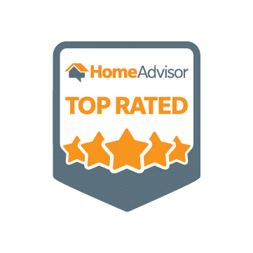HomeAdvisor Top Rated Shield